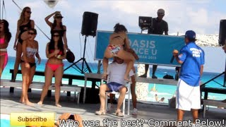 Spring Break ! Mexican Master Roshi: Grand Oasis Cancun Dance Off (Young Girls Grind On Old Man)