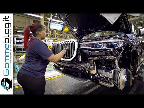 2020 BMW X7 PRODUCTION BMW USA Car Factory