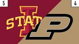 5 Iowa State vs. 4 Purdue Prediction   Who