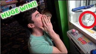I WON THE KEY MASTER JACKPOT!! (TOP ROW!)