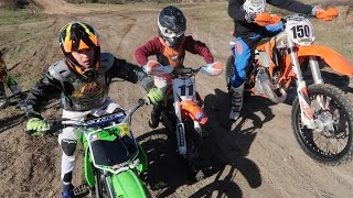DIRTBIKE TRAIL RIDING!