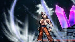 SSF2 Beta v1.0.0: Goku Master Ultra instinct form