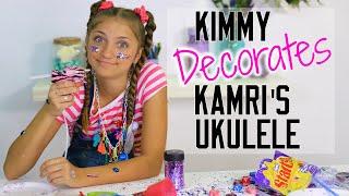 Kimmy Decorates Kamri's Ukulele   Kamri Noel