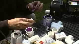 How to: Plumbing - using PVC primer and glue