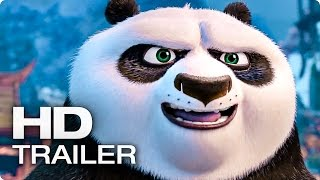 KUNG FU PANDA 3 Exklusiv Trailer 2 German Deutsch (2016)