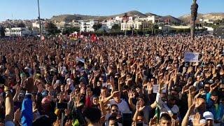 Maroc : nouvelle manifestation dans la ville d'Al-Hoceïma