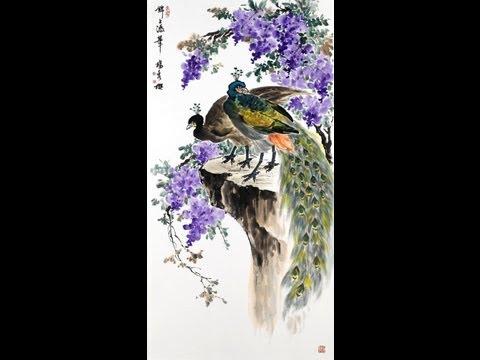 楊秀櫻花鳥教學(六)紫藤