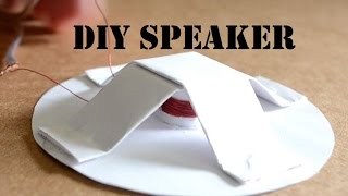 How to make a Homemade Speaker