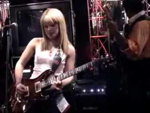 Badass Female Guitarist Orianthi Panagaris