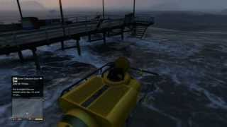 GTA V: How To Get The SCUBA GEAR and SUBMARINE! (DETAILED) INFINITE BREATH UNDERWATER!
