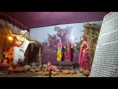 Ganpati Decoration Gandhi chok Mitra mandal kalwan
