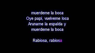 Rabiosa-Shakira karaoke