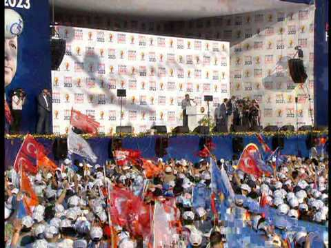 AK Parti istanbul Kazlıçeşme Mitingi Recep Tayyip Erdoğan Full Kalite LOGOSUZ 1 7
