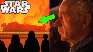 Palpatine's THOUGHTS During Qui-Gon's FUNERAL - Star Wars Explained