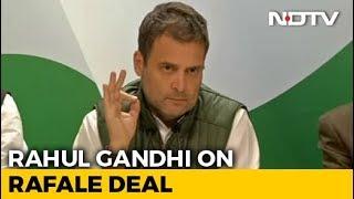 """""""Why Did Anil Ambani Get Offset Clause?"""" Asks Rahul Gandhi On Rafale"""