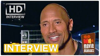 Fast & Furious 7 | Dwayne Johnson talks Hobbs Interview (2015)