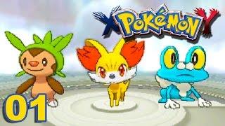 Pokémon Y #01 : BIENVENUE À KALOS !