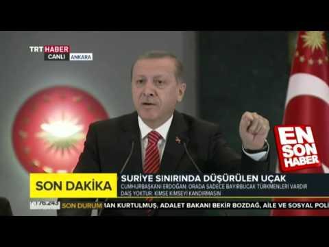 Erdoğan: MİT tırları Türkmenlere yardım götüren tırlardı