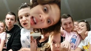 Millie Bobby Brown | Instagram Live Stream | 19 June 2017 w/ Charlie & Ava Brown