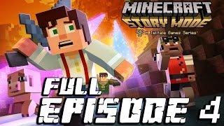 Minecraft: Story Mode - Full Episode 4: A Block and a Hard Place Walkthrough 60FPS HD