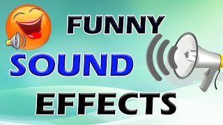 Funny Sound Effects For Videos Used By Most of the YouTubers  No Copyright   By Sai Teja
