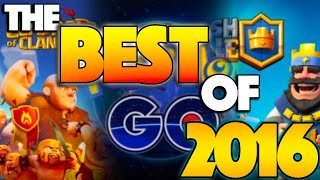 The BEST of 2016! (Pokemon Go, Clash of Clans, Clash Royale, Life of MYSTIC7)