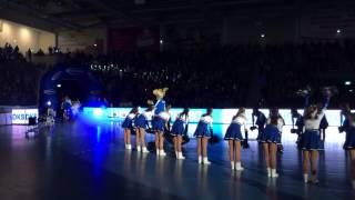 Einlauf VfL Gummersbach | Schwalbe Arena 06.11.2013 | Handball Bundesliga | Oberbergischer Kreis