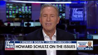 Howard Schultz believes a centrist president is what the country needs