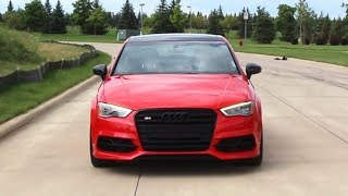 APR Tuned Audi S3 Review!