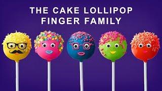 The Finger Family Cake Pop Family Nursery Rhyme - Cake Pop Finger Family Songs For Kids