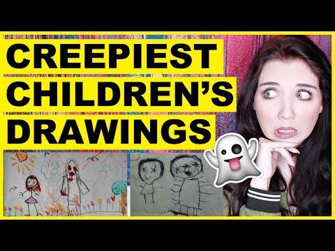 Creepiest Children's Drawings