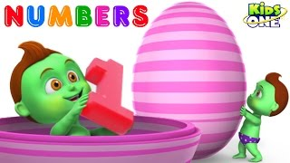 BABY HULK Gets GIANT Surprise EGGs | Learn NUMBERS 1 To 10 for Children
