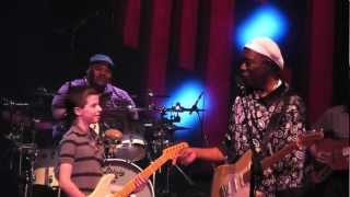 Buddy Guy and Hayden Fogle Blues Guitar Jam