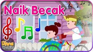 Lagu Naik Becak   Diva bernyanyi   Diva The Series Official