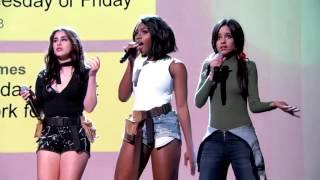 Fifth Harmony Sing a Group Text on Jimmy Kimmel Live (legendado PT-BR)