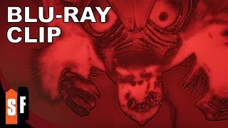 The Angry Red Planet (1959) - Clip 1: The Batratspidercrab (HD)