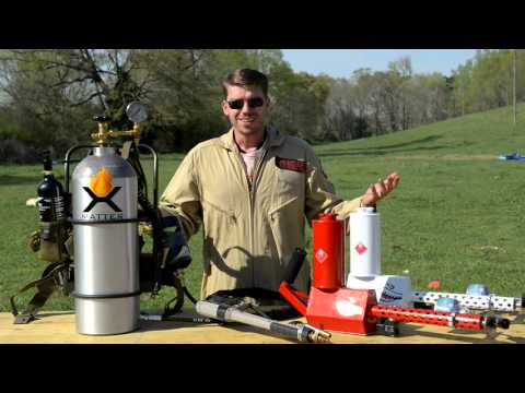 The X15 & XM42 Personal Flamethrowers!