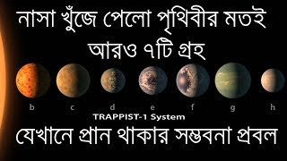Nasa Discovers 7 New Exoplanets That Could Sustain Life ৷৷ TRAPPIST-1 ৷৷ Bengali