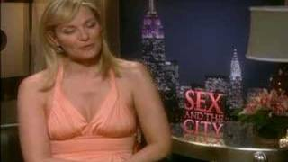 Kim Cattrall interview for the Sex and the City movie