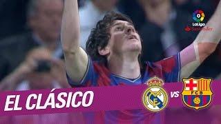 El Clásico - Resumen de Real Madrid vs FC Barcelona (0-2) 2009/2010