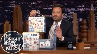 Jimmy Showcases His Mudpuppy DADA and MAMA Puzzles and Flashcards