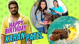 Karan Patel And Ankita Bhargava's Sons' DAY OUT At The Swimming Pool   DOG FUN TIME