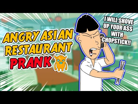 Angry Asian Restaurant Prank Call (ORIGINAL) - Ownage Pranks