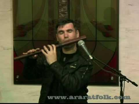 New Flute www.araratfolk.com soloist Hayk Tarverdyan