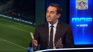 MNF - Gary Neville on Mauricio Pochettino