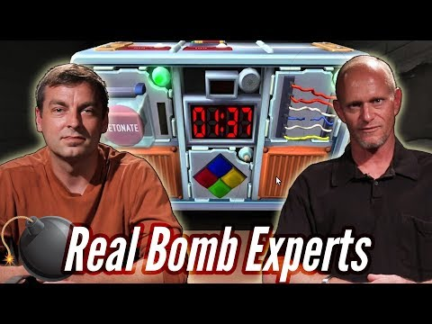 Real Bomb Squad Defuses A Bomb In Keep Talking And Nobody Explodes • Pro Play