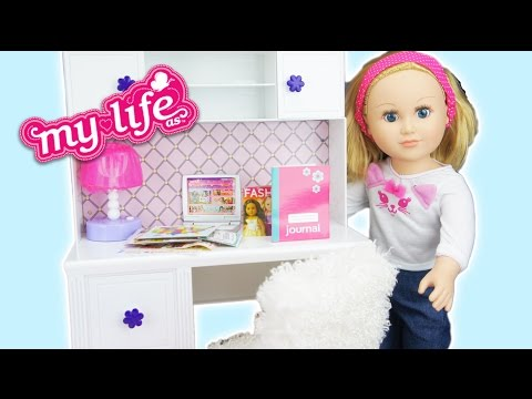 Xxx Mp4 My Life Dolls Desk And Accessories Set Review 3gp Sex