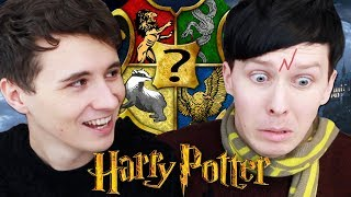 Which Hogwarts House are Dan and Phil?! - POTTERMORE