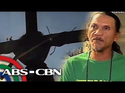 TV Patrol: 55 anyos na deboto, magpapapako sa krus sa Semana Santa