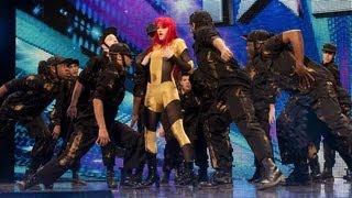 Four Corners dance troupe - Britain's Got Talent 2012 audition - International version